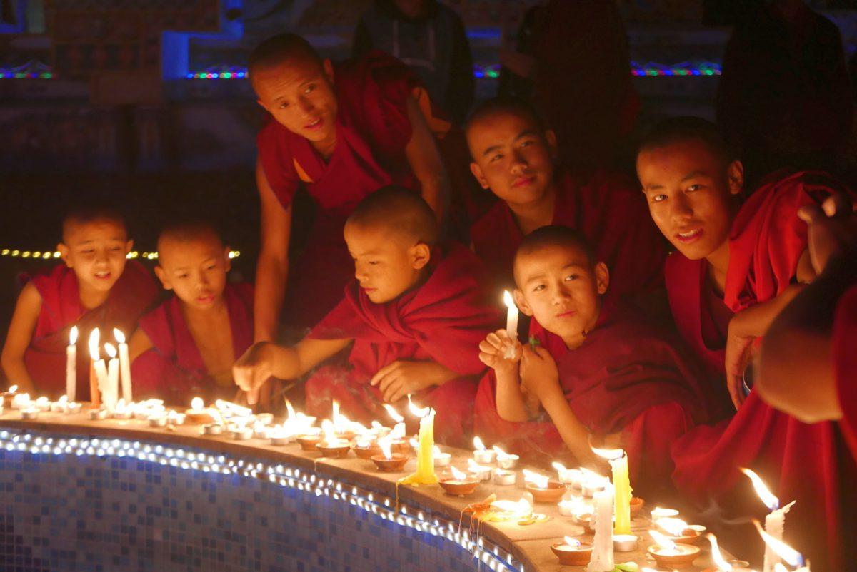 Een bezoek aan het Kopan klooster