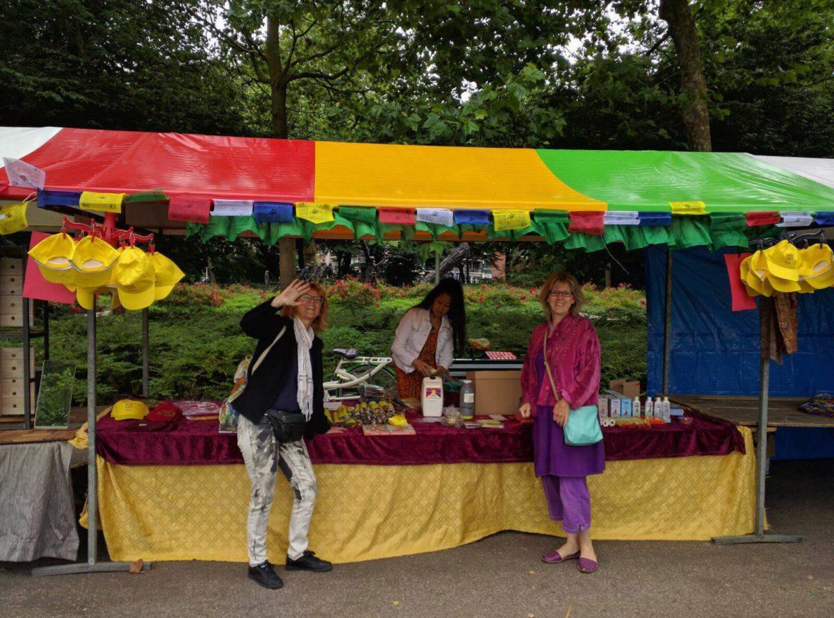 De Tibetwinkel in Bloemendaal, 2 september 2017
