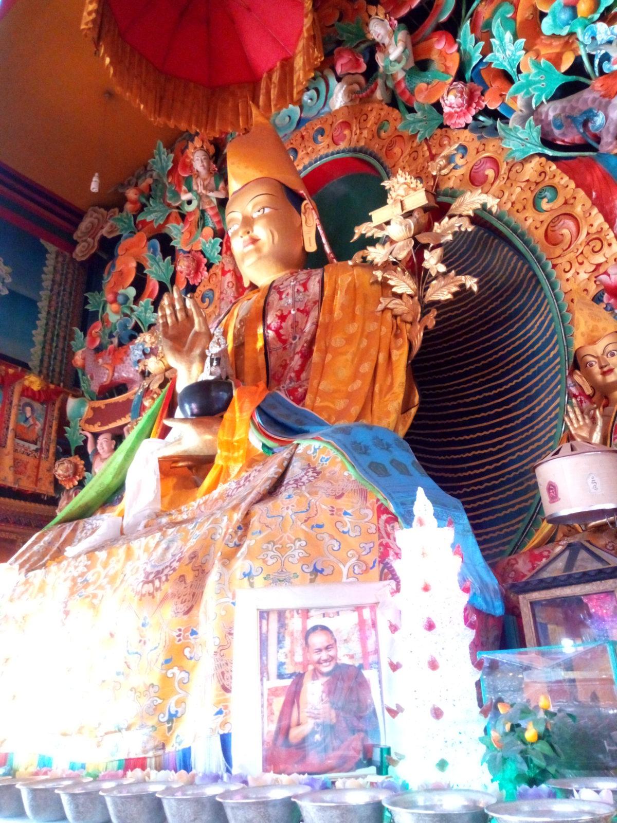 Het Kopanklooster en de Tibetwinkel
