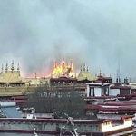 februari: brand Jokhang