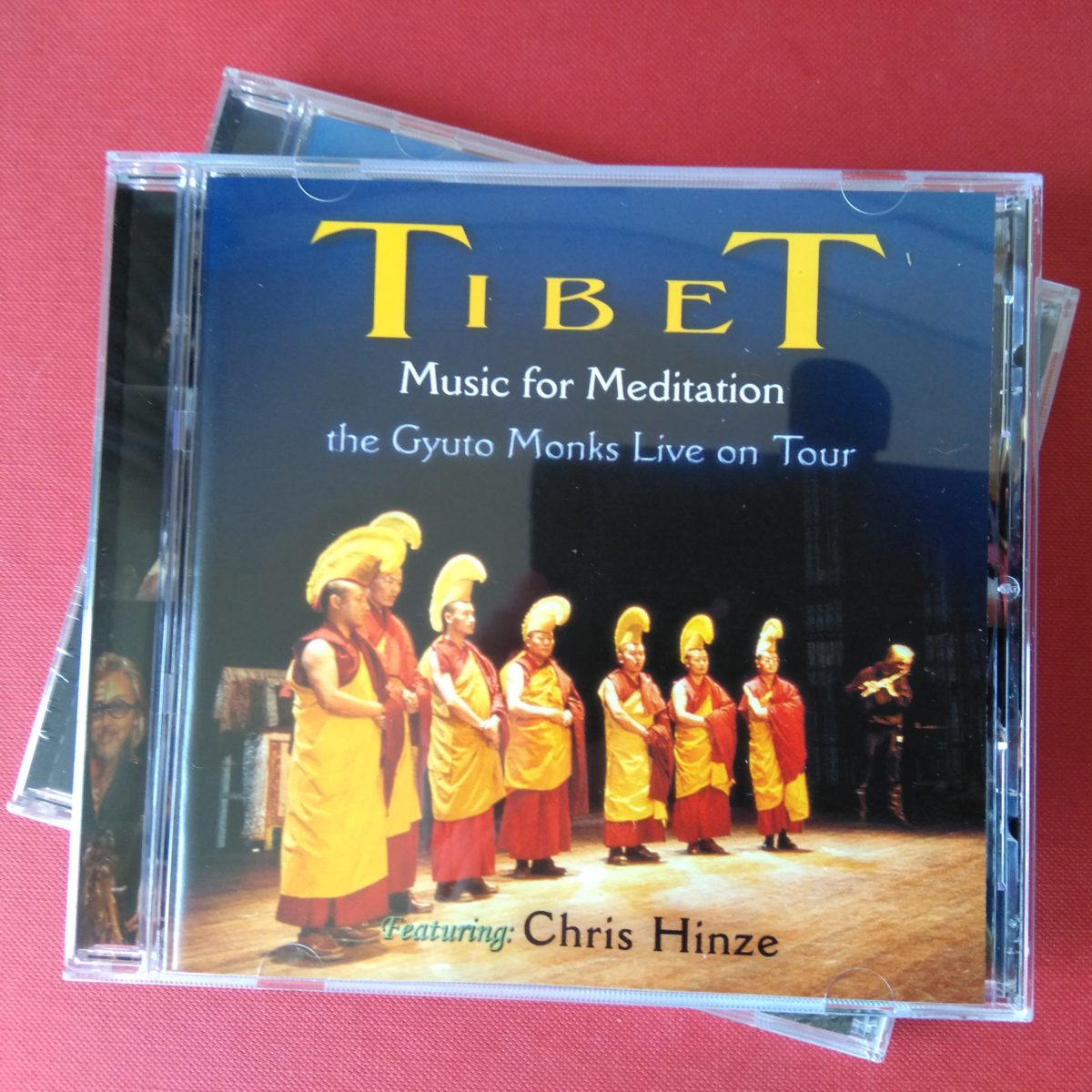 CD TIBET Music for meditation, Gyoto Monks & Chris Hinze