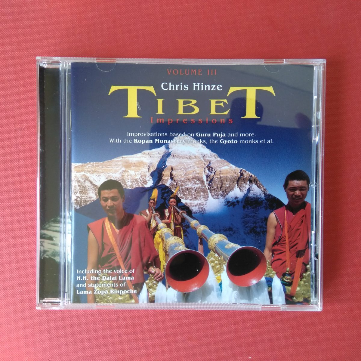 CD Tibet Impressions, volume III, Chris Hinze