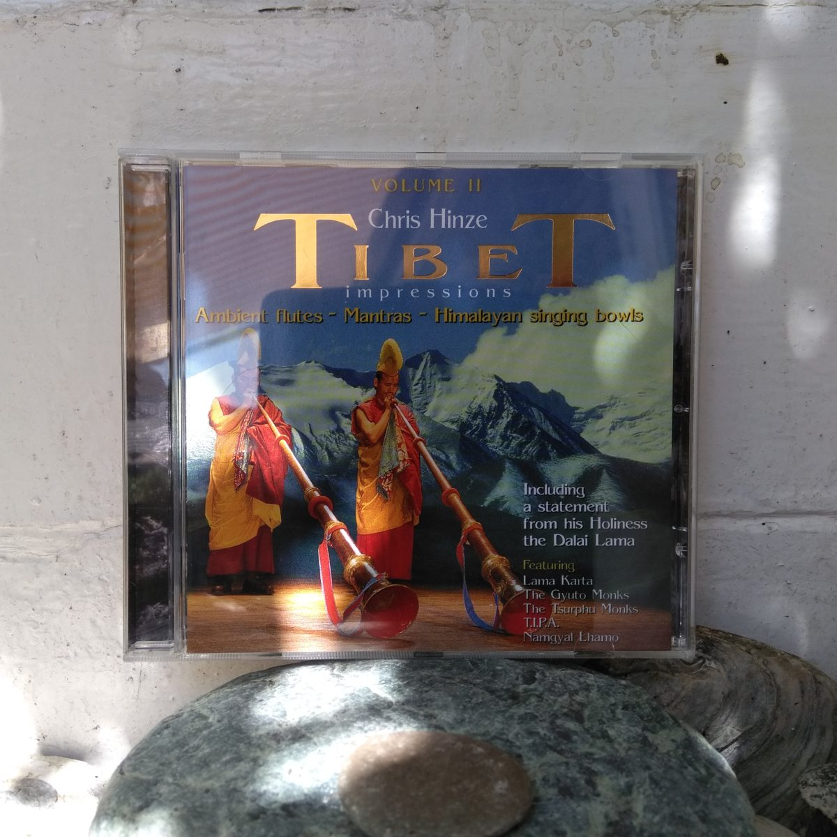CD Tibet Impressions Volume II (2015 reissue) Chris Hinze